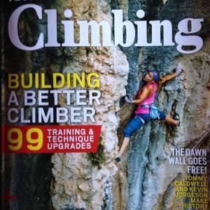 Climbing Mag cover