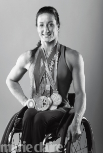 BEVERLY HILLS, CA - MARCH 07:  Paralympian Tatyana McFadden poses for a portrait at the 2016 Team USA Media Summit at The Beverly Hilton Hotel on March 7, 2016 in Beverly Hills, California.  (Photo by Sean M. Haffey/Getty Images)